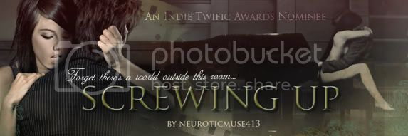 Edward Bella, Screwing Up Banner